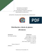 Distribucion de Plantas (Resumen)