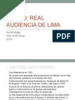 Archivología - Fondo Real Audiencia de Lima