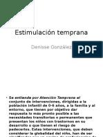 Estimulacion Temparana