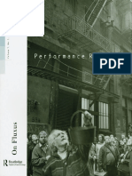Performance Research 7 3 on Fluxus 2002