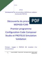 Code Composer Studio - Proteus - Premier Programme