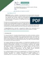 Reforma y Desigualdad Educativa en America Latina