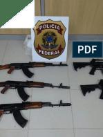 Jurisprudência (minoritária) - Porte de Arma de Fogo - Competência da Justiça Federal