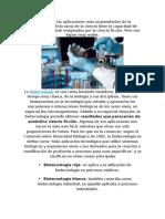. biotecnología