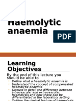8. Haemolytic Anaemia (1)