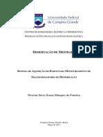 Sistema De Aquisição De Dados Para Monitoramento De Transformadores De Distribuição