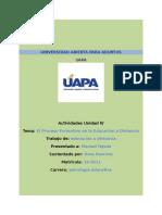 EDUCACION A DISTANCIA TAREA #4.docx