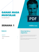 HSN Guía Para Ganar Masa Muscular - Semana 1
