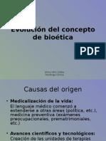 Evolución Del Concepto de Bioética
