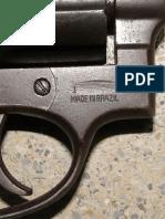 Jurisprudência - Arma com numeração raspada, mas devidamente identificada