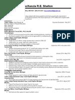 macs senior resume