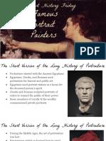 famous portrait painters