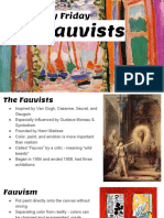 the fauvists