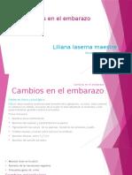 Diapositivas Cambios en El Embarazo