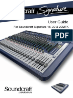 Soundcraft Signature 16-22 User Guide Original