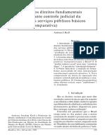 Direitos Sociais e Serviços Públicos