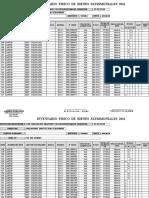 Formato de Inventario Secundaria 2016 Almacen