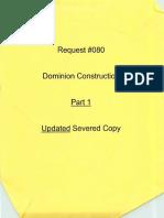 Dominion Construction Part 1