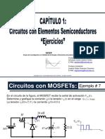 Ejercicios Con TRIAC y MOSFET