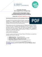 FY Summer Research Fellowship Application 2017