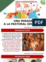 6. Una Mirada a La Pastoral Educativa