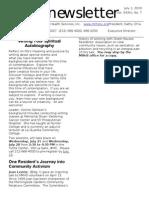 Newsletter 07 2010