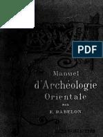 Chaldée; Assyrie; Perse; Syrie; Judée; Phénice; Carthage - Babelon, Ernest, 1854-1924.pdf