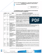 Terminos de Referencia Para EIA