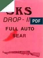 20287520 SKS Drop in Full Auto Sear