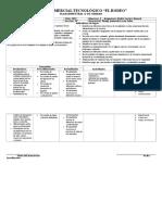 Modelo de Plan de Unidad o Bimestral 1