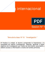 Sesion N°10 Marketing Internacional