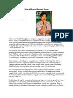 Biografi Raudal Tanjung Banua