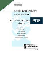Apunte de Electricidad y Magnetismo 1 a 5
