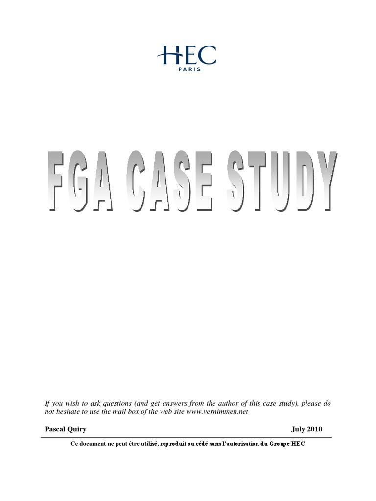 fga case study vernimen