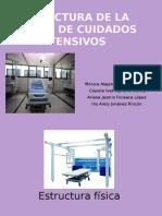 Estructura de la unidad de cuidados intensivos