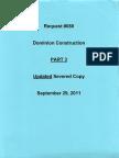 Dominion Construction Part 3 Blue Sept. 29, 2011