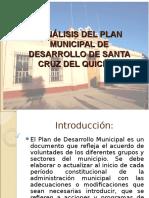 Análisis Del Plan Municipal de Desarrollo de Santa Cruz Del Quiche