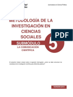 Impreso - Modulo 5 de Meodología de Investigación en Ciencias Sociales