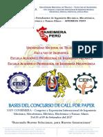 Bases Del Concurso de Paper2017