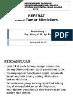 08. Bone Tumor Mimickers