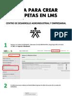 Crear Portaflio LMS