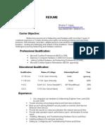 Modal Resume - 1