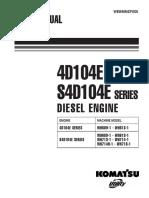 KOMATSU 4D104E S4D104E Engine Service Manual.pdf