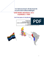Plan de Trabajo Referencial Convención Internacional