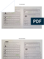 pre-assessment and post-assessment