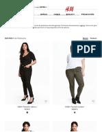 Pantalones - Tallas Grandes de Mujer Online _ H&M ES