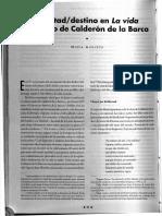 Libertad, Destino en 'La Vida Es Sueño' de Calderón de La Barca - Mmaría Andueza