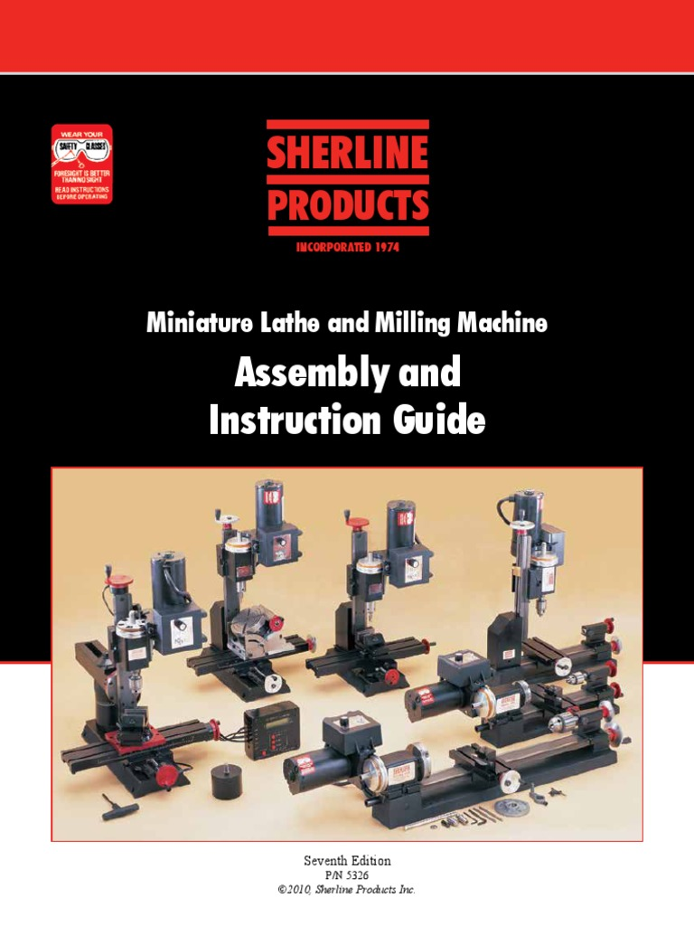 all axes Sherline 67102 CNC Stepper Motor Mount