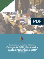 Instrucciones Para El Reporte de Información de Personal y Costos de Planta y Contratistas