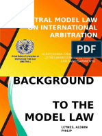 Update 7 Unictral Model Law on International Arbitration